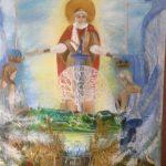 Благословение сквозь века, холст, масло,90х100, 2010г. Татьяна Золотухина