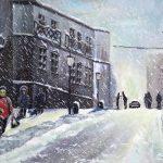 Картина маслом-Городской пейзаж-картины Валентины Петрик