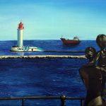 Дружина моряка. полотно, олія, 60х80, 2015 р._Пилипенко Валентина
