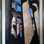 Египетские небеса,холст,масло,40х60,2004 г._Олег М. Караваев