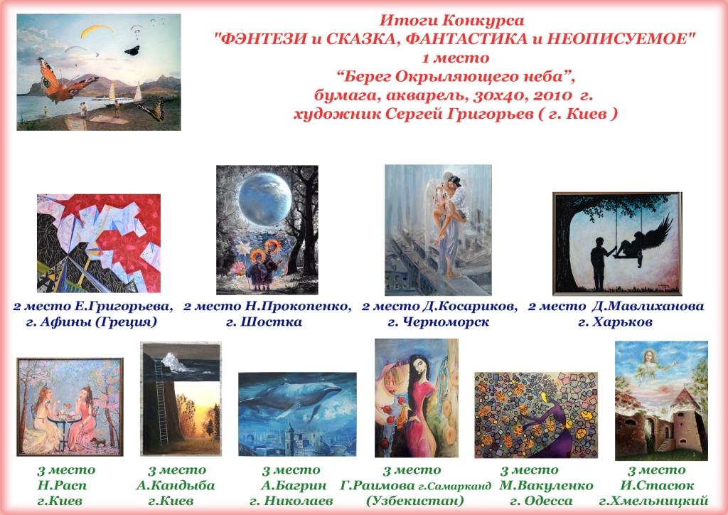 Конкурс_Фэнтези и Сказка, Фантастика и Неописуемое