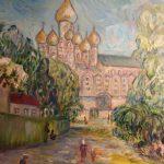 Монастырь.х.м.50х60-Vinsenta, С.Сычева