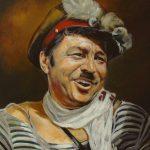 Портрет артиста 2016год 60х50 холст масло, Андрей Халтурин