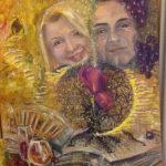 Портрет итальянцев, холст, масло, 50х65, 2017г._Татьяна Золотухина