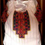 Сорочка женская, 11 цветов, нитки DMC,жемчуг. вышивка крестом,_Катерина Черненко_