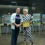С народной артисткой Украины Оксаной Пекун