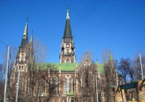 Необыкновеннй Львов Собор Св. Эльжбеты