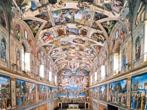 Сикстинская капелла, Микеланджело, Ватикан, Рим