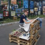 Художник Анастасия Богун ПИШЕТ