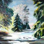 Валентина Петрик, живопись маслом, пейзажи, натюрморты