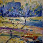 Заказать картину-Весна. х.м.50х60-живопись маслом,заказать картину-Елена Жигилевич
