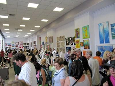Выставка Портала в Музее современного искусства (2012 г.), гости выставки