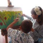 Детки-художники-экспромт