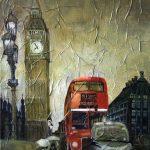 Лондон, холст,масло