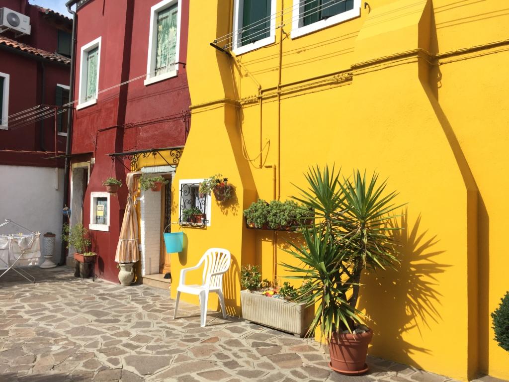 Репортаж из Венеции-На острове Бурано