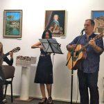 Выставка-юбилей Олега М. Караваева-Песня-Посвящение