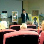 Поет Народный артист Украины Фемий Мустафаев