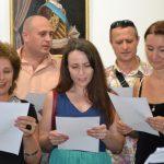 Выставка-юбилей Олега М. Караваева-Поют все