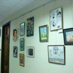 Выставка-Xmas Diplomatic Academy Art Gallery 2016-работы художников