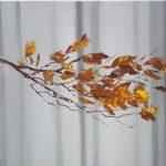 Осень-Тишина. 70х60. х.м.2017-Елена Жигилевич