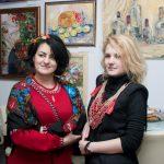 Участники Выставки художники Алла Волобуева и Анна Прохорова