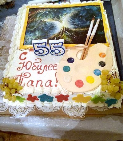 Торт для Юбиляра по мотивам его Картины