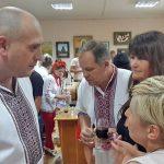 С директором музея и Представителем Польской диаспоры