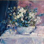 Картина-RGB-Blue (Хоть поверьте, хоть проверьте...холст, масло,40х50, 2015_Елена Жигилевич