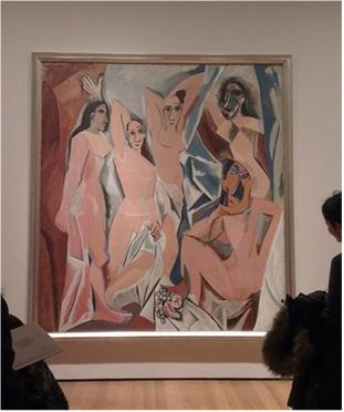 «Авиньонские девицы». Пабло Пикассо, 1907 г.фото ©Анна Прохорова, 2013, музей МоМА, Нью-Йорк- Авторские права