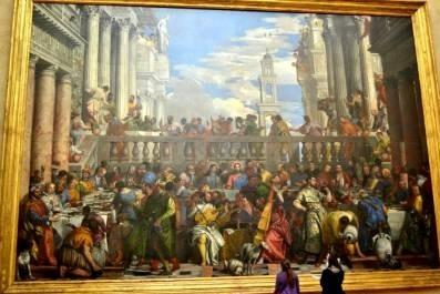 «Брак в Кане Галлилейской». Паоло Веронезе, 1562 – 1563 гг. фото ©Анна Прохорова, 2012. Лувр, Париж
