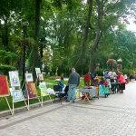 Выставка в парке им. Т.Г.Шевченко.Локация №1