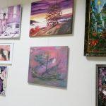 Выставка-Diplomatic collection of painting 2017 -экспозиция
