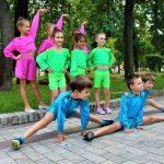 Выступление детских коллективов.
