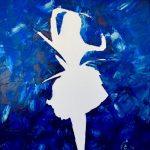 Интрига. Серия-Эмоции женщины. холст, масло, 50х40, 2018 г.