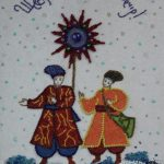 Косик Анастасія, Святий вечір, бісер,бусини, 40х60