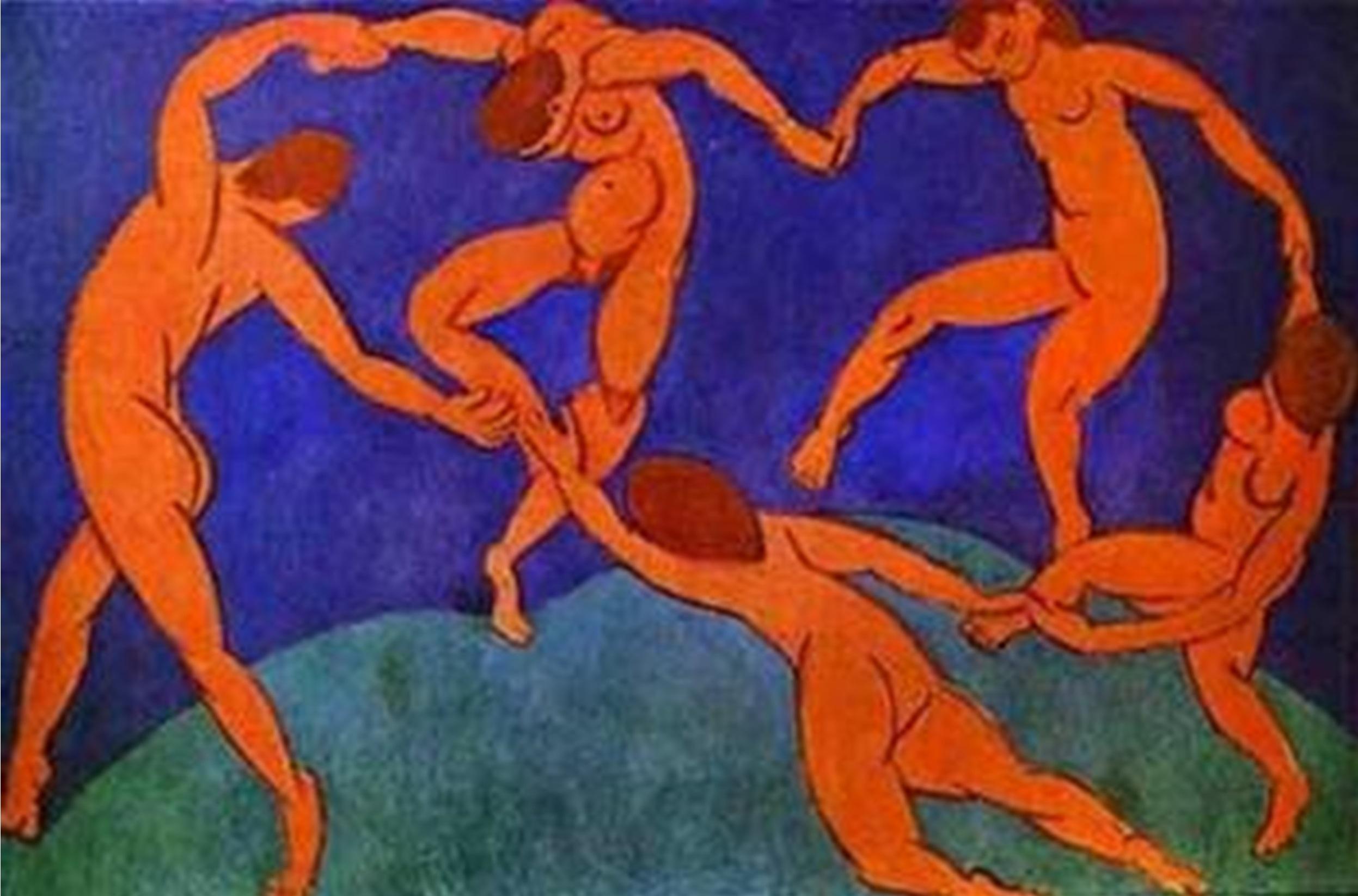 «Танец». Анри Матисс,1910 г. фото взято с сайта