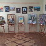 Экспозиция художников Портала на 22 Гуцульском фестивале