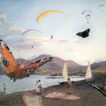 Берег Окрыляющего неба, бумага, акварель, 30х40, 2010 г. Сергей Григорьев