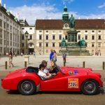 Вена.Австрия.Парад ретро-автомобилей