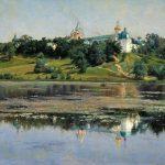 Картина-Звенигород_заказать копию картины_известные картины-Крыжицкий