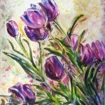 Купить картину-Цветы Кубанкиной, холст,масло