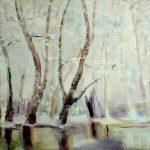 картина-Петрик Валентина, Отражение, холст,акрил, 60х80,2018 г.