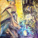 Картина-Побег,холст,масло-Татьяна Золотухина