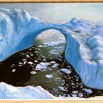 Арктическая феерия,холст,масло,50х70,2005г..Караваев О.
