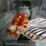 БЕССАРАБСКИЙ НАТЮРМОРТ, холст, масло, 55х70,2018 г. Дмитрий Косариков (г.Одесса-картина