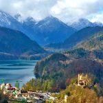Пейзаж-Бавария,пейзаж - деревня Хоэншвангау,фотоархив Анны Прохоровой