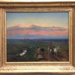 Картина-Вальдмюллер -Ferdinand Georg Waldmuller-Abendlandschaft mit Ziegenherde, 1847-фото Анны Прохоровой