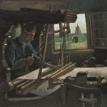 Картина-Ван Гог-Vincent van Gogh Der Weber, 1884