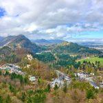 Вид на деревню Хоэншвангау в Баварии-фото А.Прохоровой