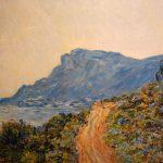 Вольная копия картины К.Моне_La Corniche near Monaco,1884,холст,фотопринт,масло,лак,2016 г. - заказать картину